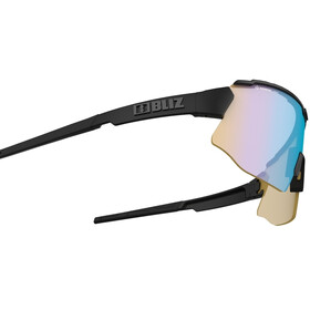 Bliz Breeze Nano Optics Nordic Light Glasses black/coral with blue multi